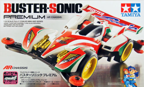 buster sonic mini 4wd